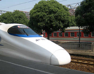 Traveling in China for Student's - Chinese Bullet Train